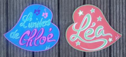 D Co Filles Plaque Pancarte Panneau Avec Prenom De Fille Porte De Chambre Plaque R Tro Vintage