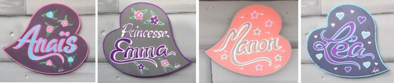 ed0be2f02e8 Plaque de porte avec prénom de fille. Déco chambre princesse. Décoration  lettre bois avec prénom pour l univers des filles personnalisable.